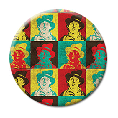 "Billy the Kid (Warhol-esque) - 2.25"" Pin Back Button"