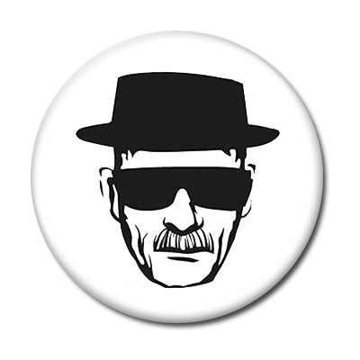 "Heisenberg - 1"" Pin Button"