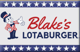 Blake's Lotaburger magnet - New Mexico State hamburger