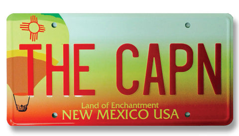 Breaking Bad - The CAPN - Metal Vanity Plate