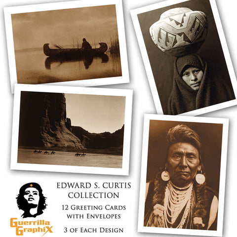 Edward S. Curtis Collection Greeting Card Box Set (12 Cards)