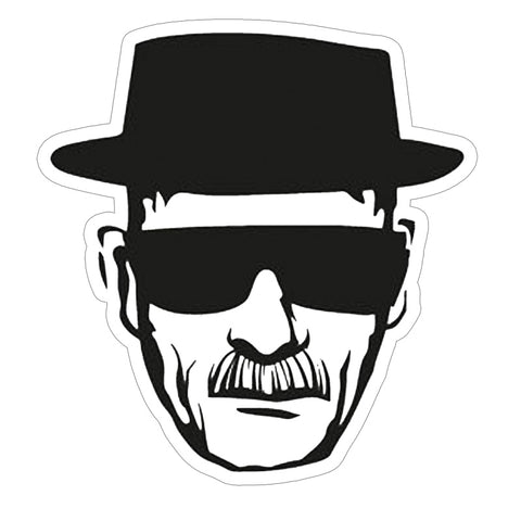Breaking Bad Heisenberg Wanted Sticker Vinyl Durable Bumpersticker