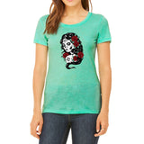 La Muerta Womens T-shirt
