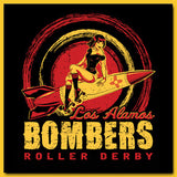 Los Alamos Bombers Roller Derby T-Shirt