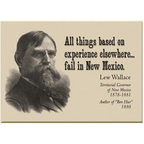 Lew Wallace Quote Magnet
