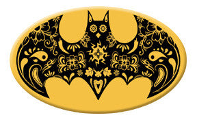 Sugar Bat Oval Magnet
