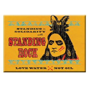 Solidarity With Standing Rock Magnet