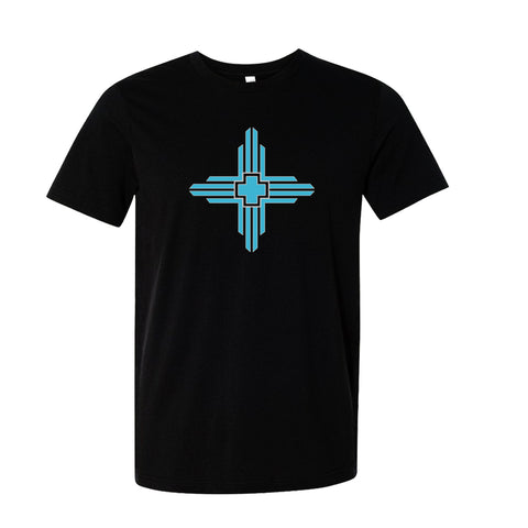 Pueblo Vintage Art Deco Zia New Mexico T-shirt