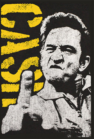 Johnny Cash Sticker