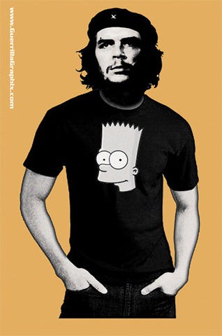 Bart n Che Sticker