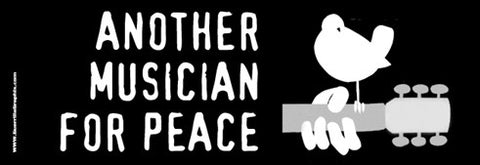 Musicians for Peace Sticker