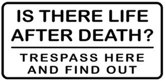 Life After Death Sticker