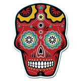 Sugar Skull Full Color - Vinyl Sticker