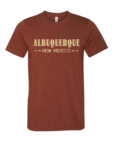 Albuquerque New Mexico T-shirt - Guerrilla Graphix