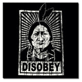 Disobey Screen Printed Tee T-shirt - Made in New Mexico