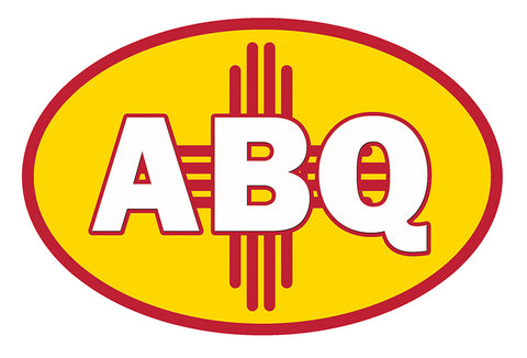 ABQ Oval - Vinyl Sticker