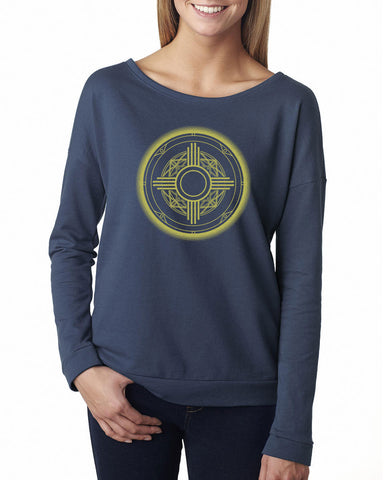 Zia Mandala - Ladies French Terry Sweatshirt