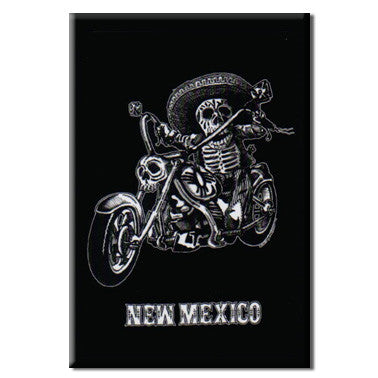 Biker Billy NM Magnet - New Mexico Giftware - Guerrilla Graphix