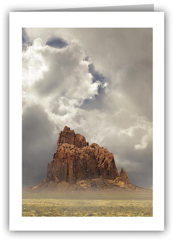 Shiprock, New Mexico Greeting Card