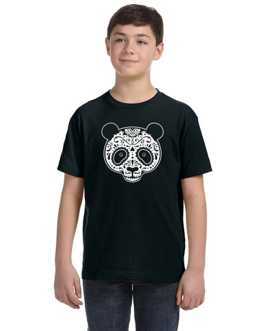 Panda Skull Kids and Toddler T-Shirt OT