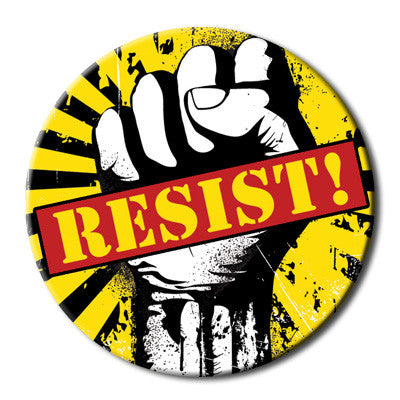 Resist Fist Magnet