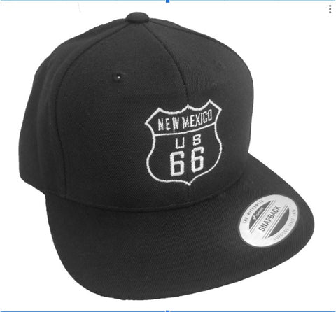 Flatbill - Embroidered Route 66 Hat