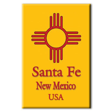 Santa Fe New Mexico Magnet