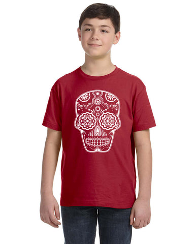 Sugar Skull Kid's and Toddler T-Shirt