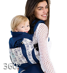 Lillebaby Essentials All Seasons Baby Carrier 360