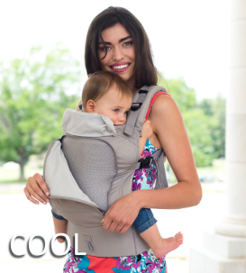 Lillebaby Essentials All Seasons Baby Carrier Cool