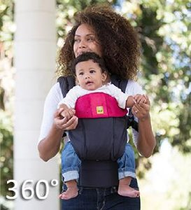 Lillebaby Complete All Seasons Baby Carrier 360 degrees of carry