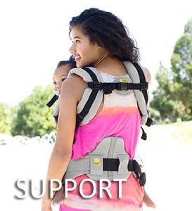 Lillebaby Complete Embossed Baby Carrier Support