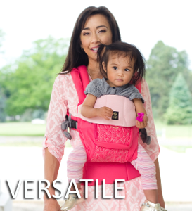 Lillebaby Complete Embossed Baby Carrier Versatile