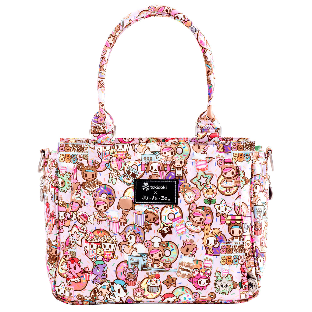 Jujube Be Classy Structured Tote - Tokidoki Donutella Sweet Shop