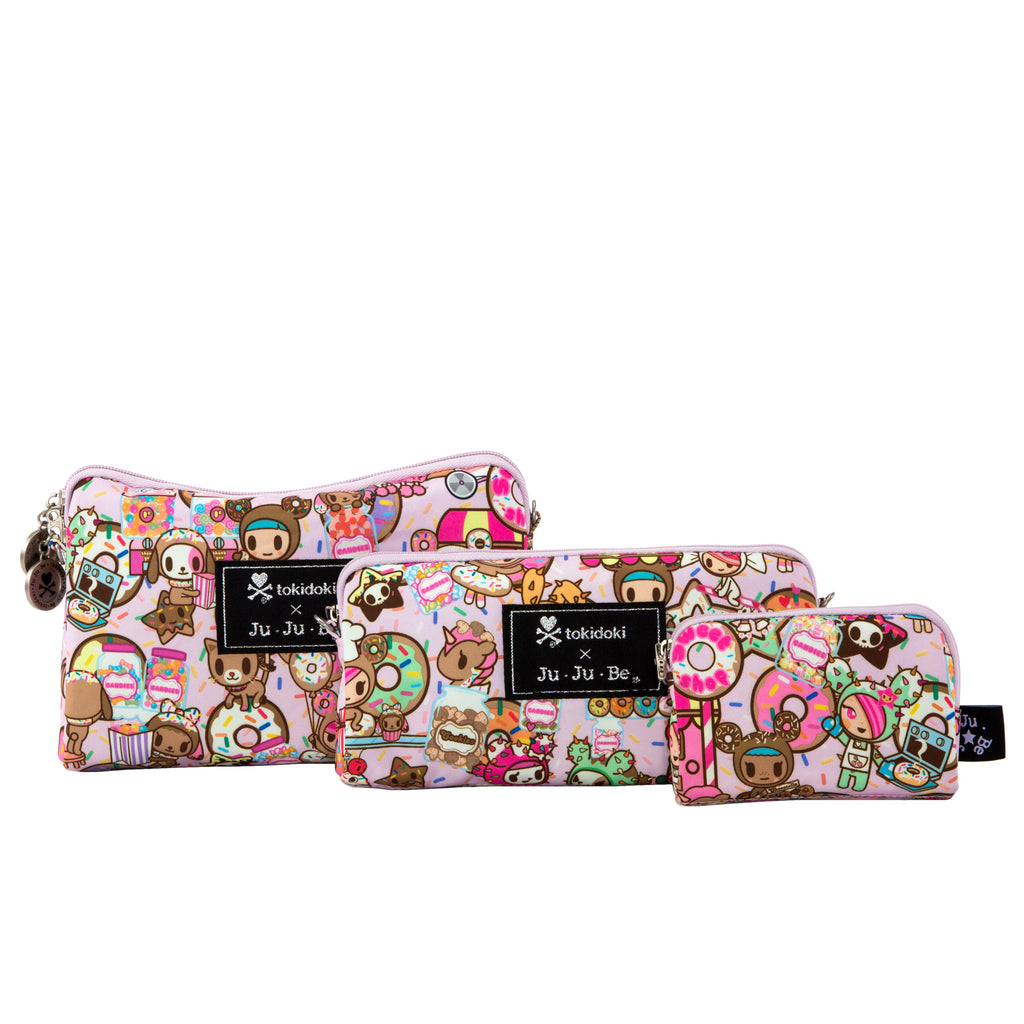 Jujube Be Set Bag Set - Tokidoki Donutella Sweet Shop