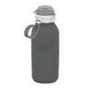 16oz Squeasy Sport Silicone Bottle - Grey