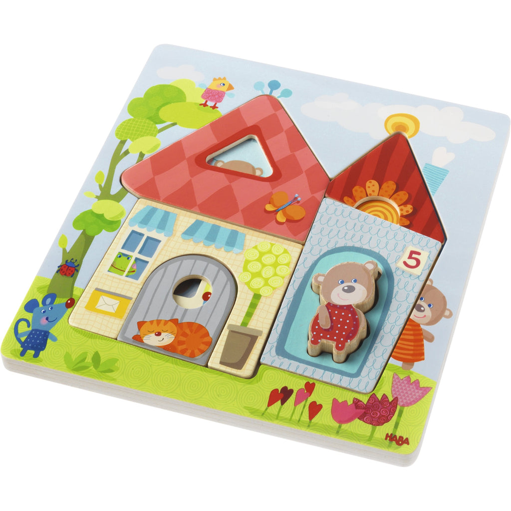 3D Wooden Bear Puzzle by Haba