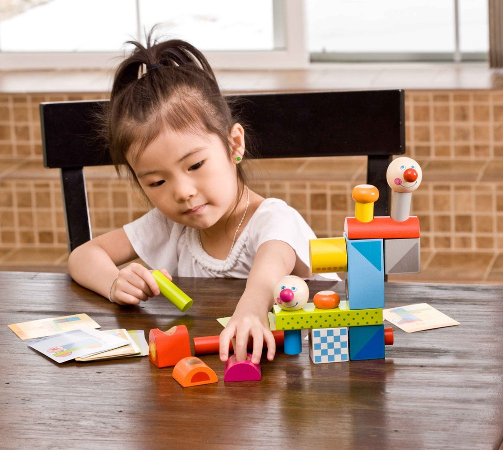 Brain Builder Peg Set by Haba