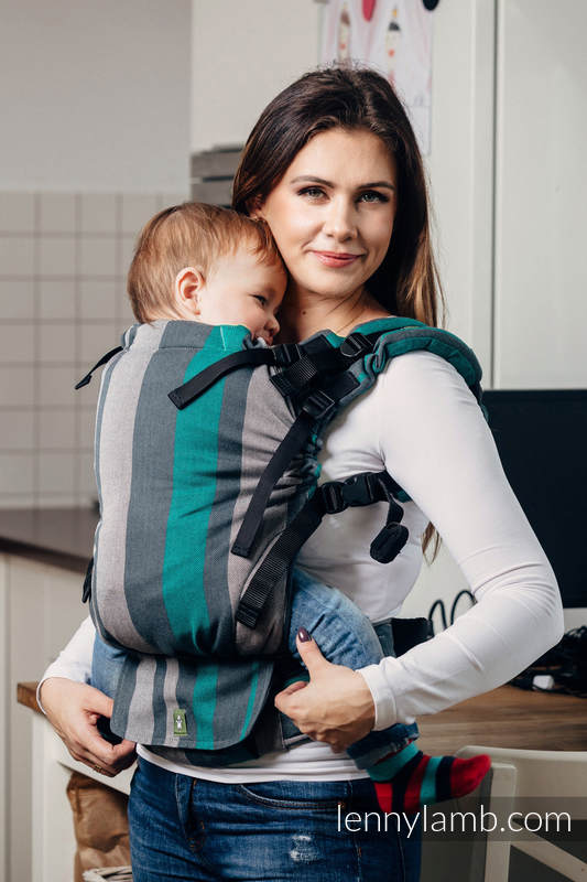Lenny Lamb LennyUp Baby Carrier- Smoky Mint