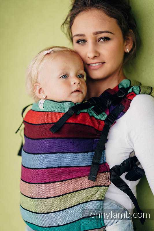 Lenny Lamb LennyUp Baby Carrier- Carousel of Colors