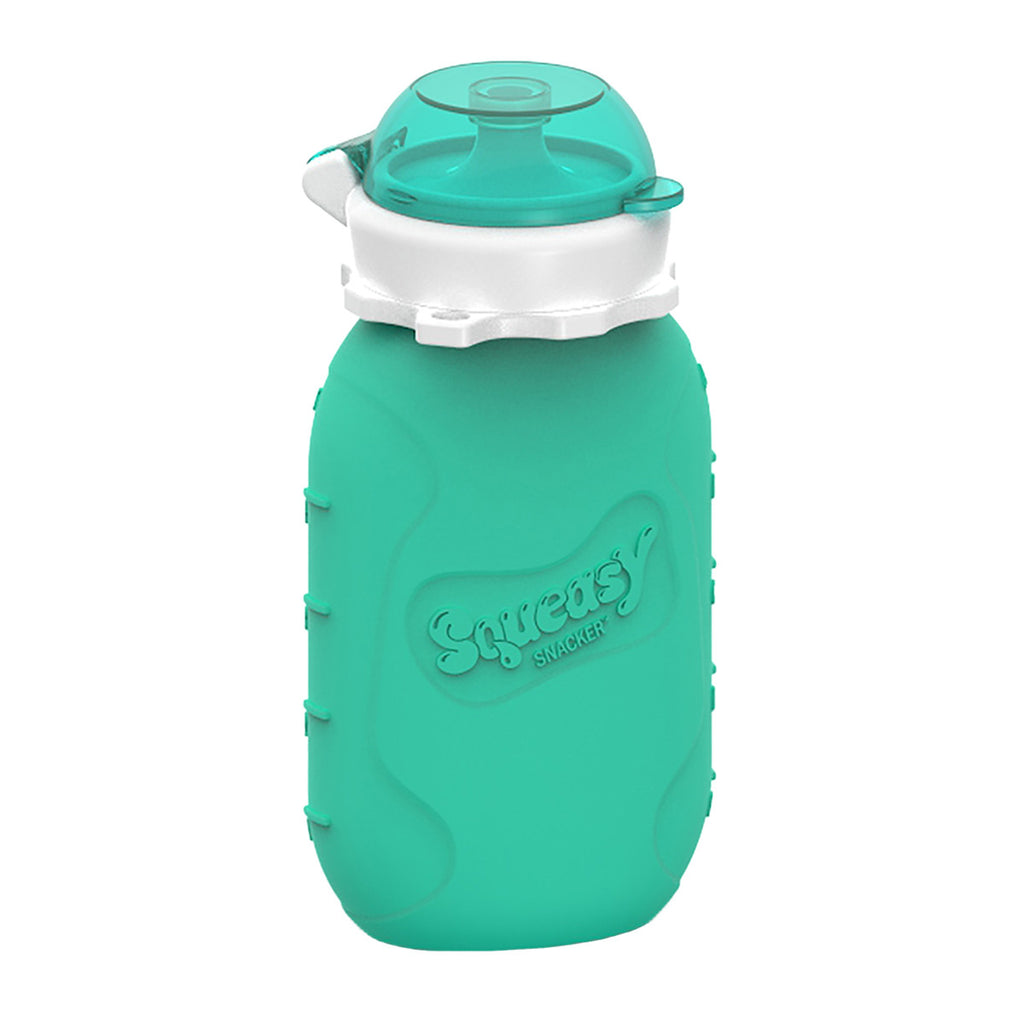 6oz Squeasy Snacker - Aqua