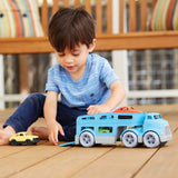 Green Toys Car Carrier Vehicle Toy Set