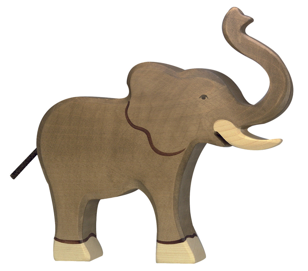 Holztiger Wooden Toys- Elephant with Trunk Raised