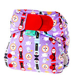 Tots Bots Easyfit V4 All in One Cloth Diaper - Hickory Dickory Dock