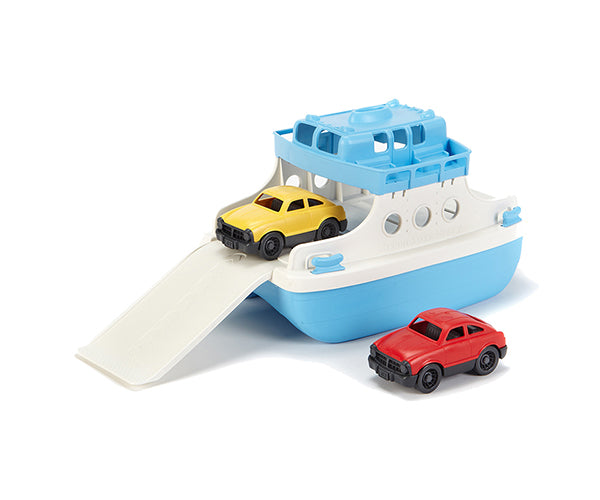 Green Toys Ferry Boat w/Cars