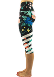 Colorado Threads Floral Dreams Capris (IN-STOCK)