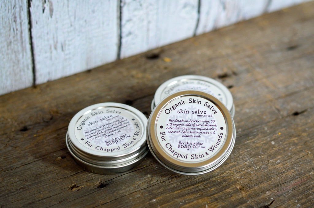 Breckenridge Soap Co. Organic Healing Salve- Unscented