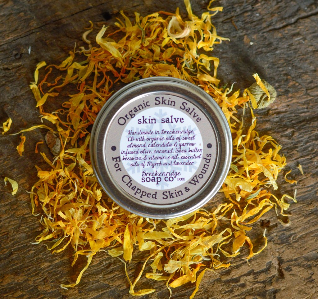 Breckenridge Soap Co. Organic Healing Salve- Lavender Myrrh Chapped
