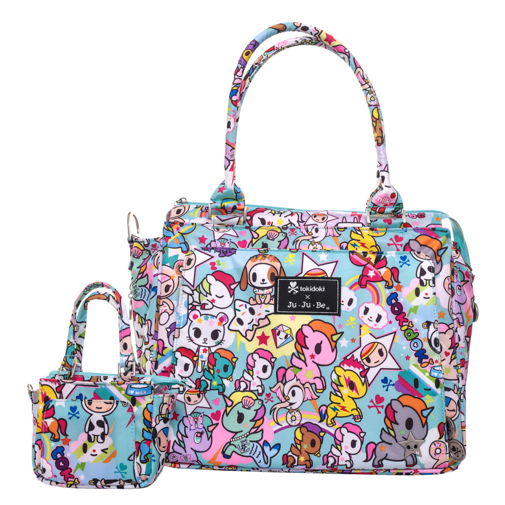 Jujube Itty Bitty Be - Kid Size Purse - Tokidoki Unikiki 2.0