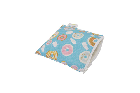Itzy Ritzy Snack Happens Reusable Snack and Everything Bag- Fresh Bloom